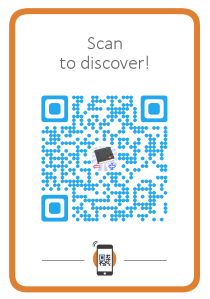 EvoWallet, Let your friend scan this QR code to visit our web site.